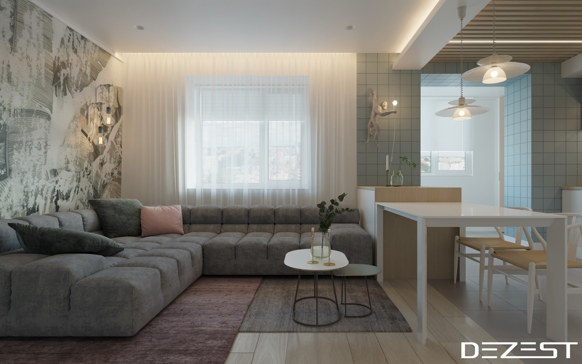 Three Apartments Using Pastel To Create Dreamy Interiors images 18