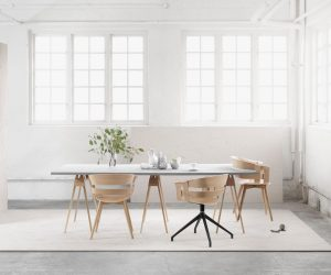 The Minimalist Aesthetic Works So Well In The Dining Room ...