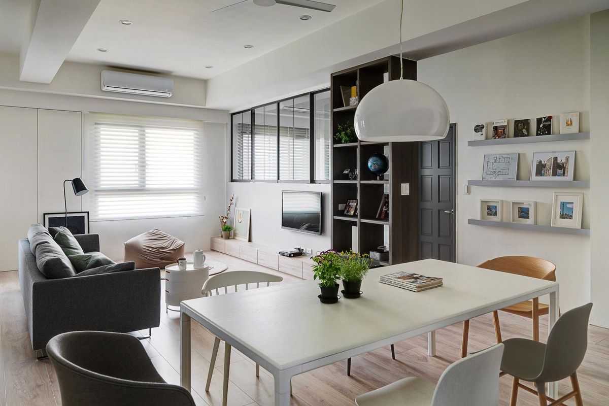 A Soothing, Earthy Color Scheme for a 3 Bedroom Home With Study [Includes Floor Plans] images 8