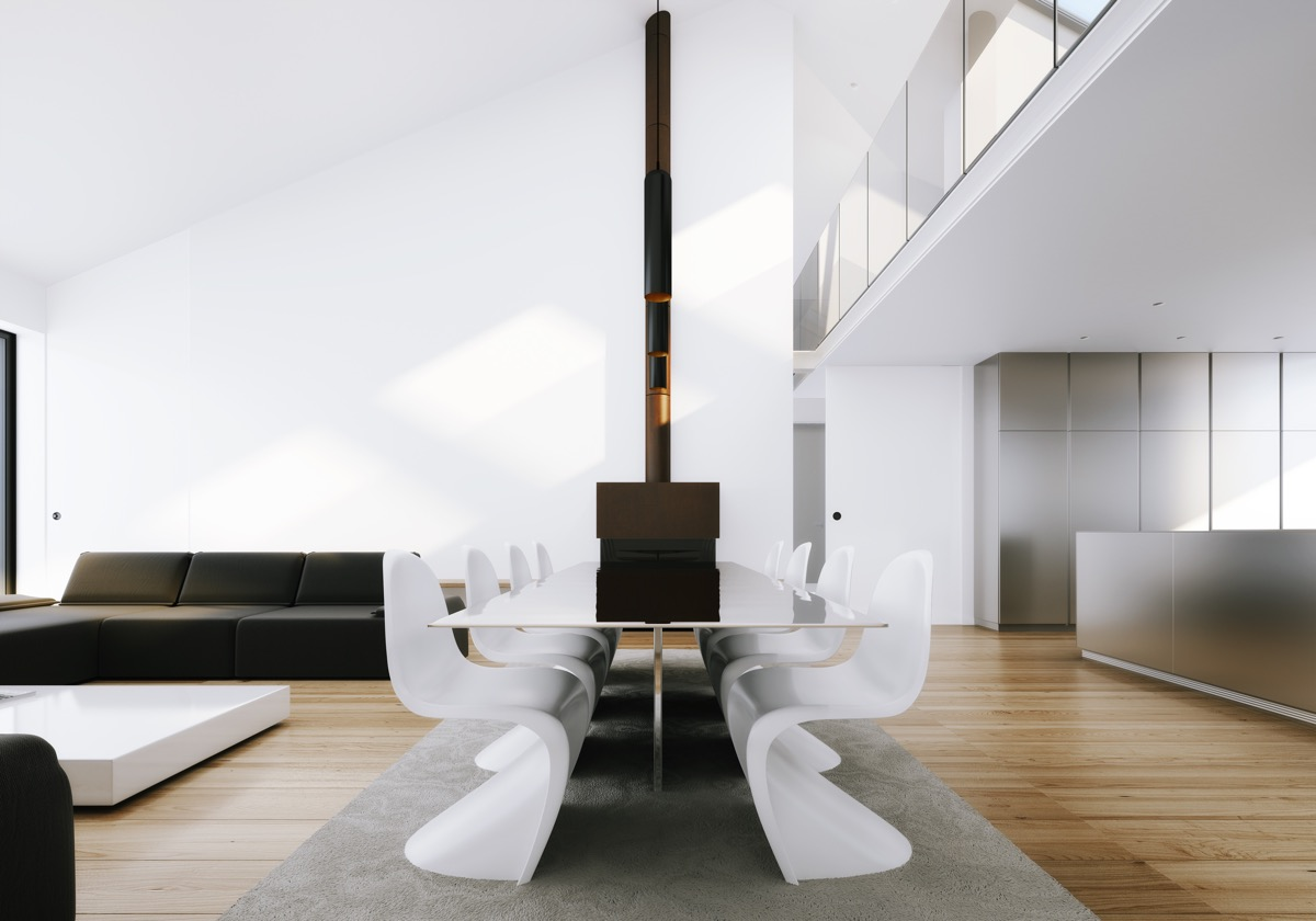 40 Minimalist Dining Rooms That Will Leave You Hungry to Copy Their Style images 33