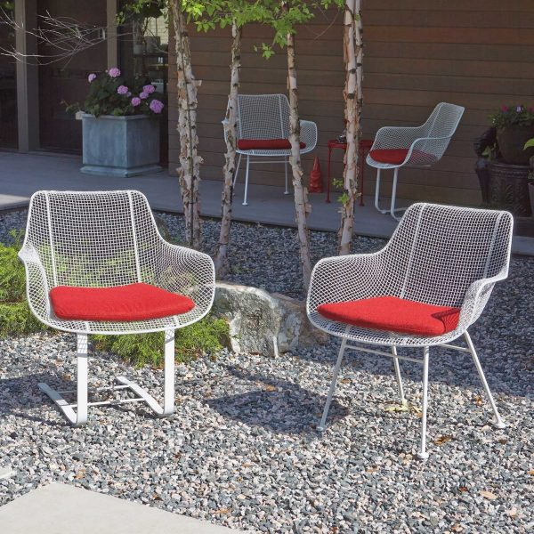 White iron outdoor furniture Pool Buy It Sculptural Outdoor Chair Bring Classic Wicker And Modern Iron Patio Design Ideas 51 Modern Outdoor Chairs To Elevate Views Of Your Patio Garden