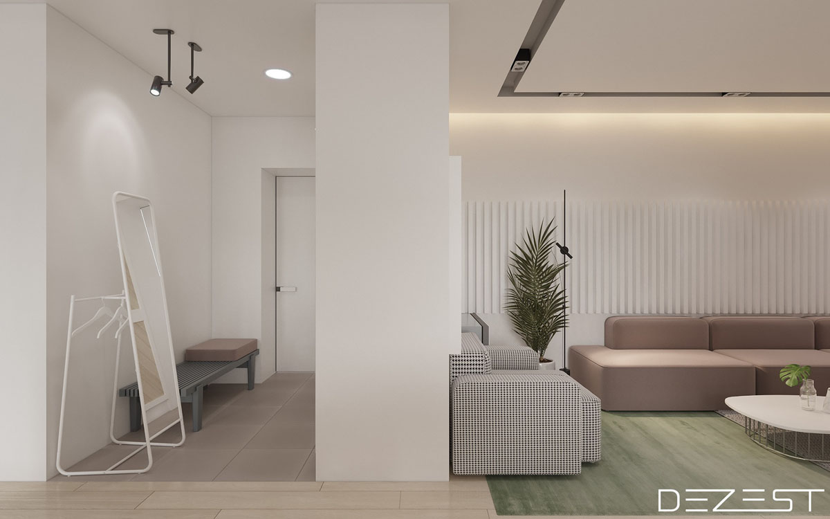 Three Apartments Using Pastel To Create Dreamy Interiors images 1