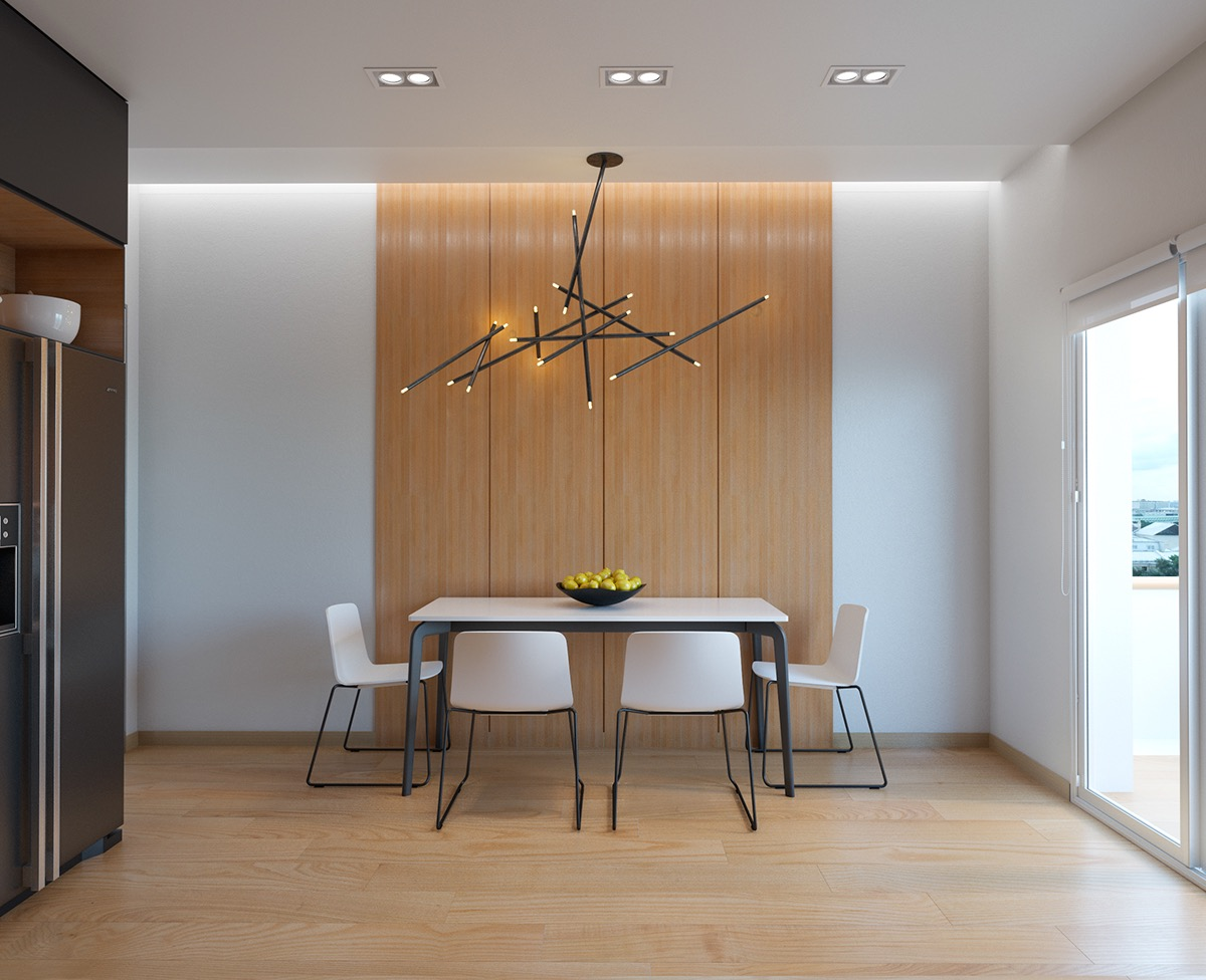 40 Minimalist Dining Rooms That Will Leave You Hungry to Copy Their Style images 25