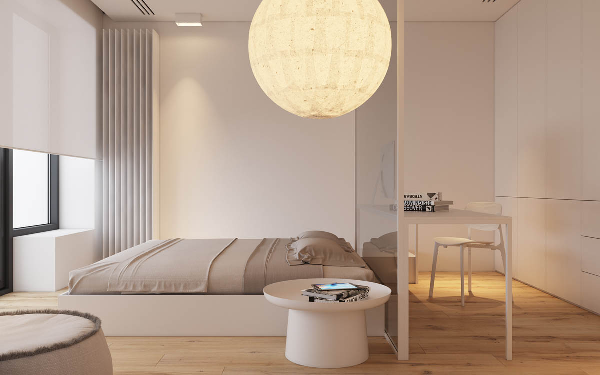Modest Size Modern Interiors That Flirt With Feature Walls images 9