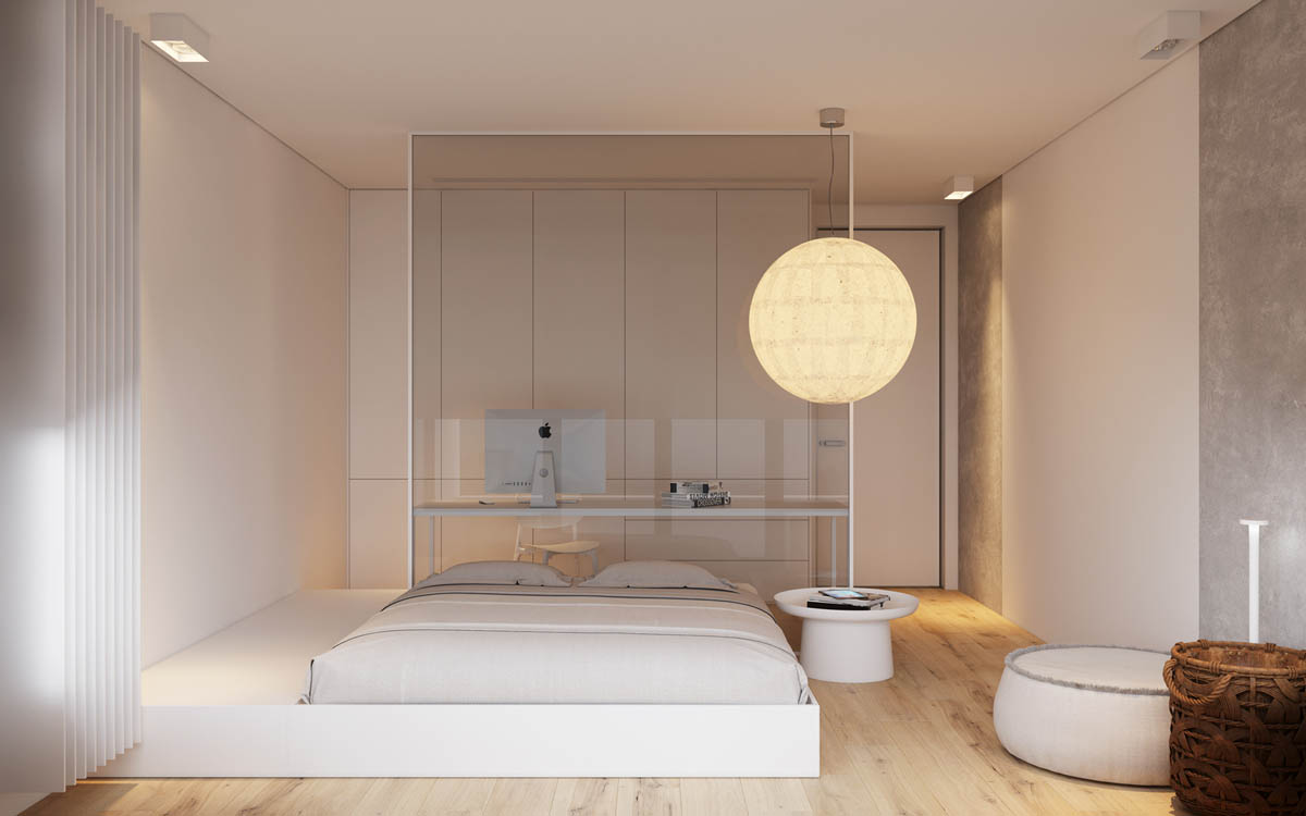 Modest Size Modern Interiors That Flirt With Feature Walls images 8