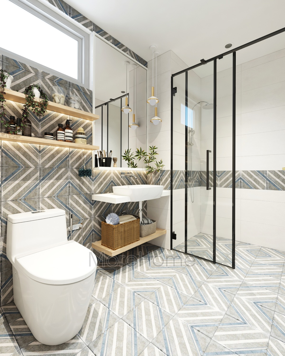 40 Modern Bathroom Vanities That Overflow With Style images 36