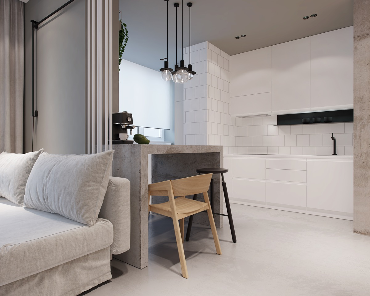 Modest Size Modern Interiors That Flirt With Feature Walls images 22