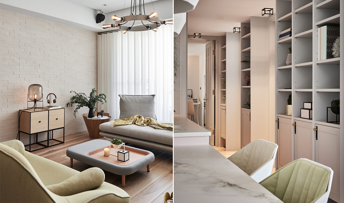 Family Home With Dashes Of Pastel Colour Decor images 5