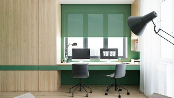 Functional Minimalist Endangering With Brave Colours And Bespoke Installations