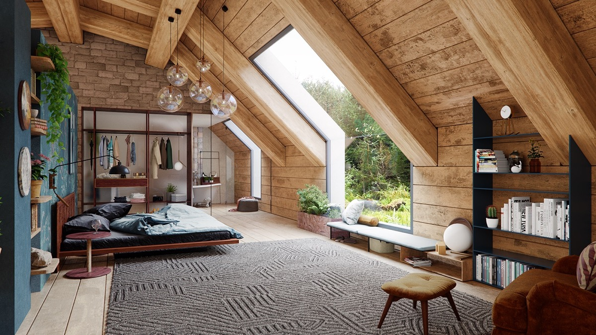 A Cozy Modern Rustic Cabin In The Trees images 10