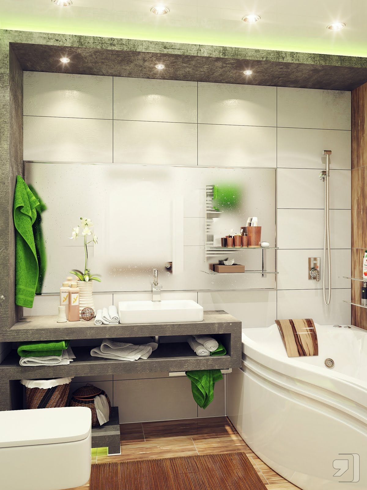 40 Modern Bathroom Vanities That Overflow With Style images 31