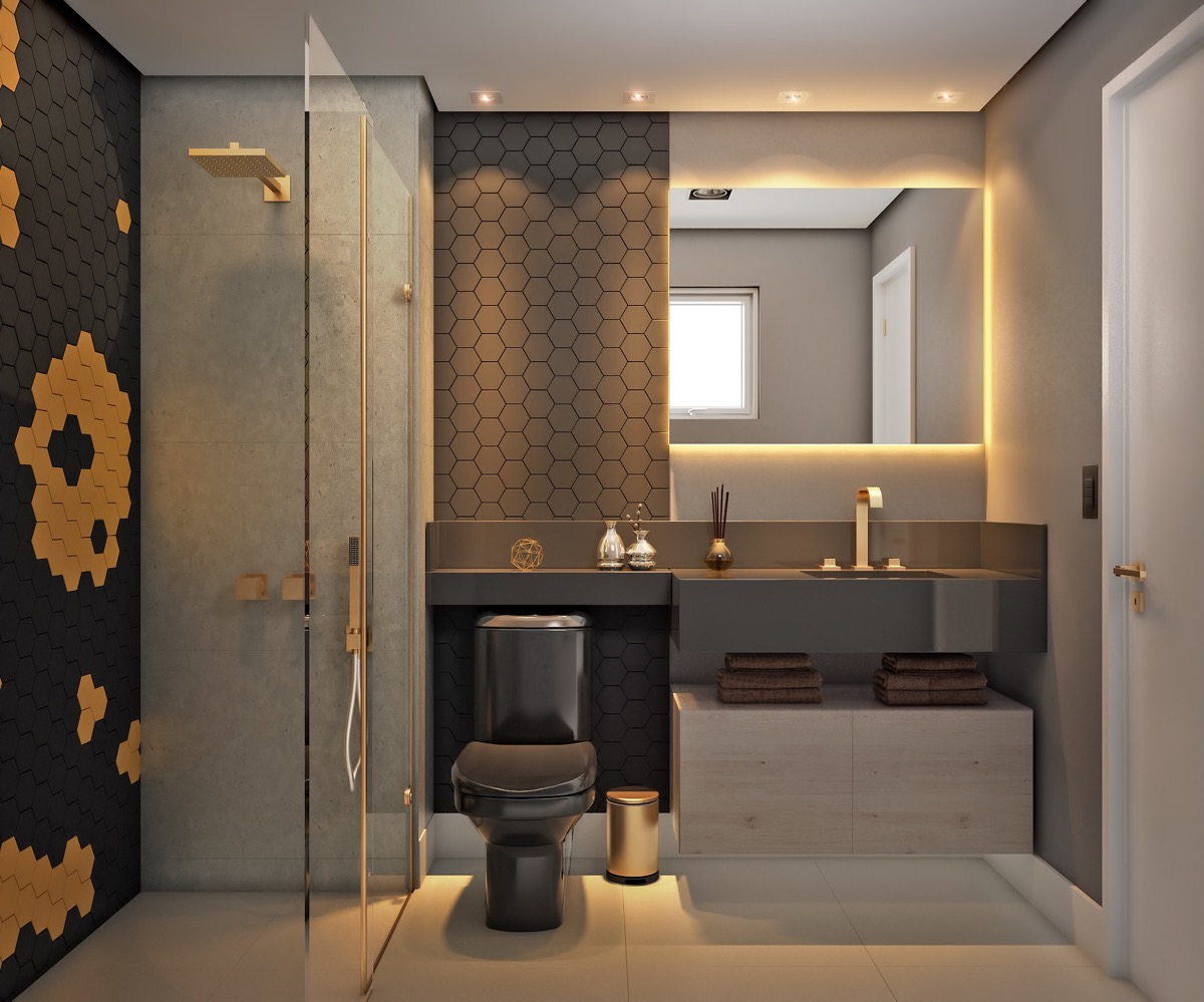 40 Modern Bathroom Vanities That Overflow With Style images 26