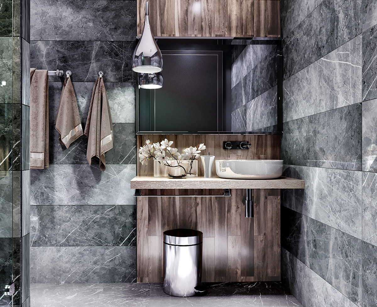 40 Modern Bathroom Vanities That Overflow With Style images 24