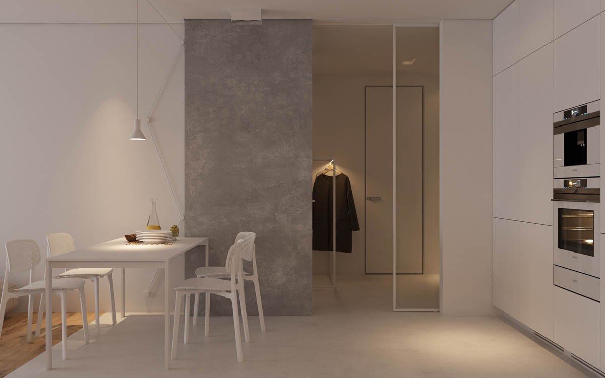 Modest Size Modern Interiors That Flirt With Feature Walls images 4