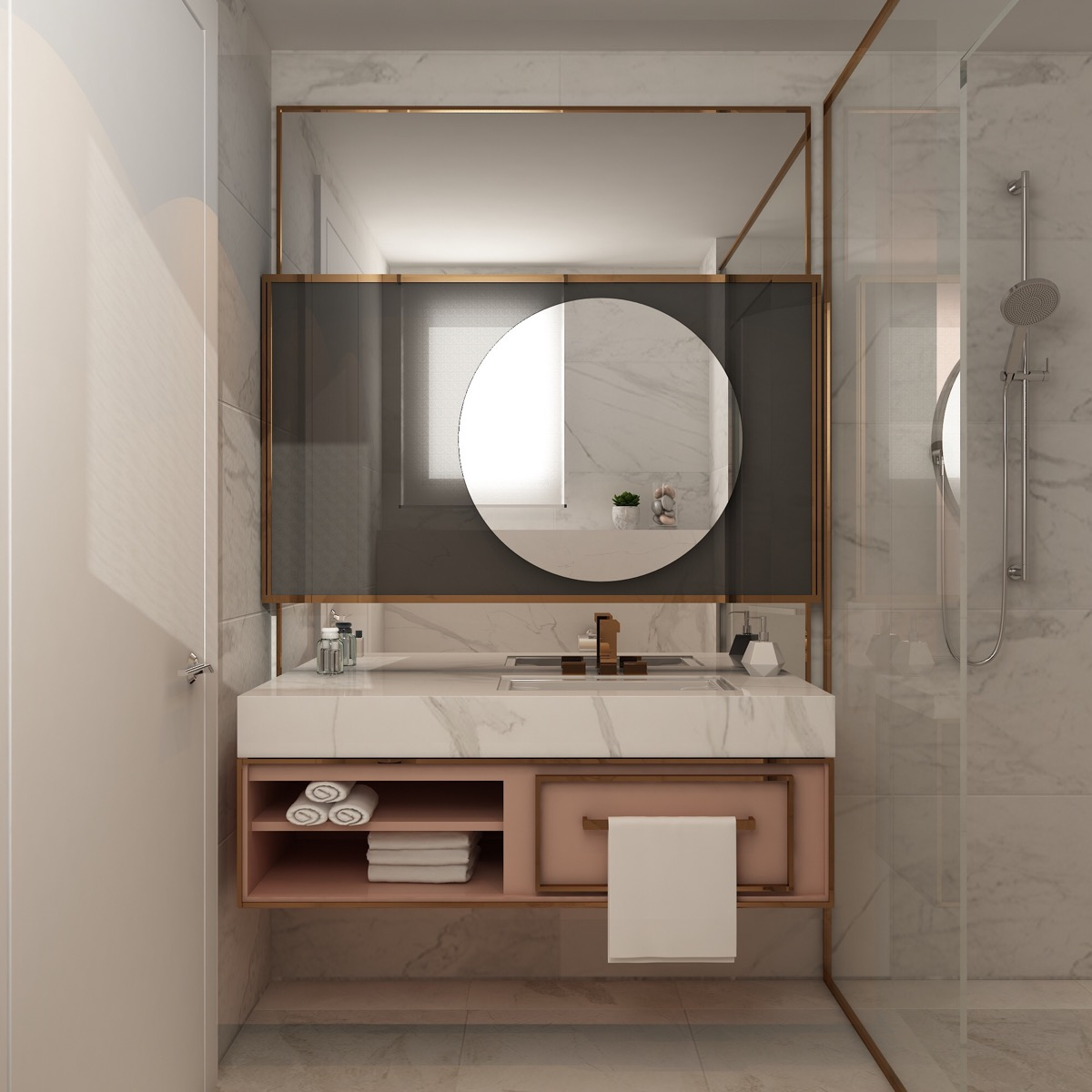 40 Modern Bathroom Vanities That Overflow With Style images 27