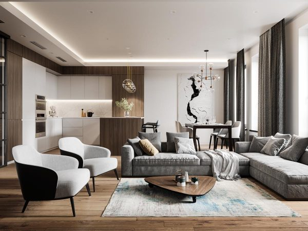 Sophisticated Modern Glamour (Home Tour)