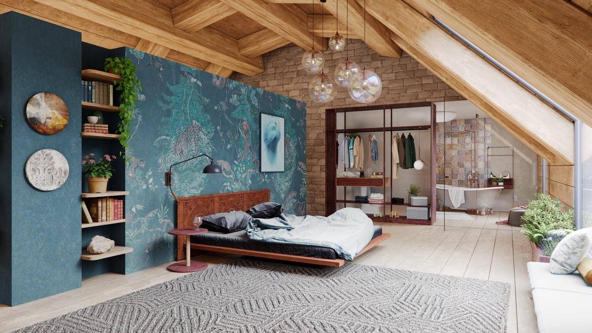 A Cozy Modern Rustic Cabin In The Trees images 9
