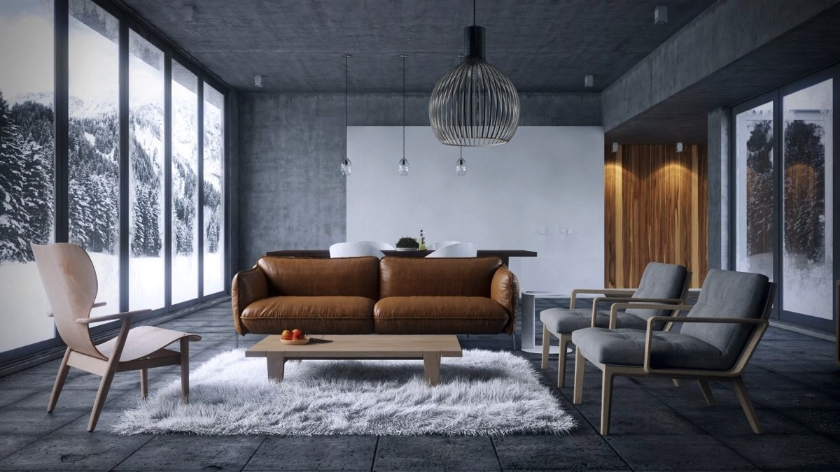 Living Rooms With Brown Sofas: Tips And Inspiration For Decorating Them images 16
