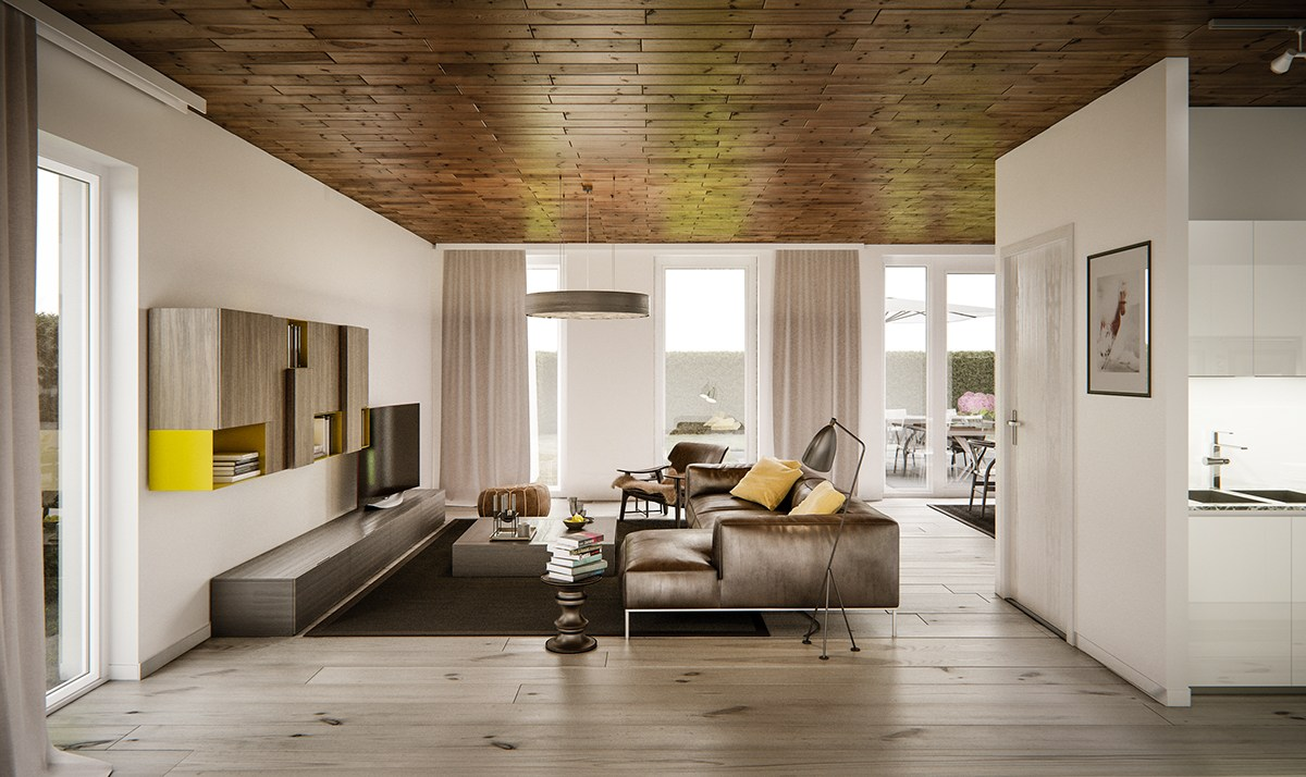 Living Rooms With Brown Sofas: Tips And Inspiration For Decorating Them images 13