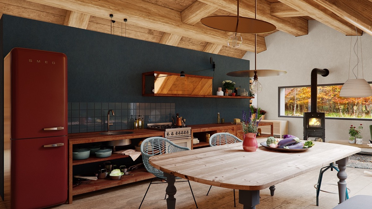 A Cozy Modern Rustic Cabin In The Trees images 7