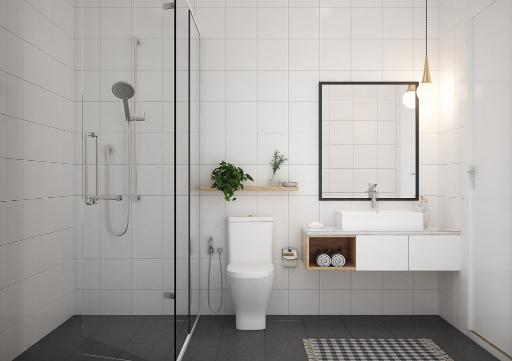40 modern minimalist style bathrooms for Minimalist design style