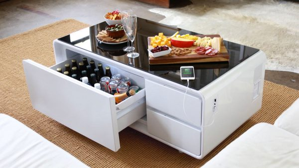 Product Of The Week: A Hi-tech Coffee Table With Built In Refrigerator