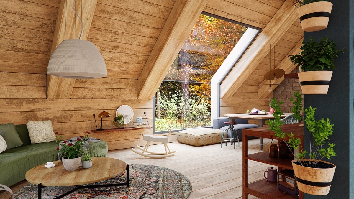 A Cozy Modern Rustic Cabin In The Trees images 2