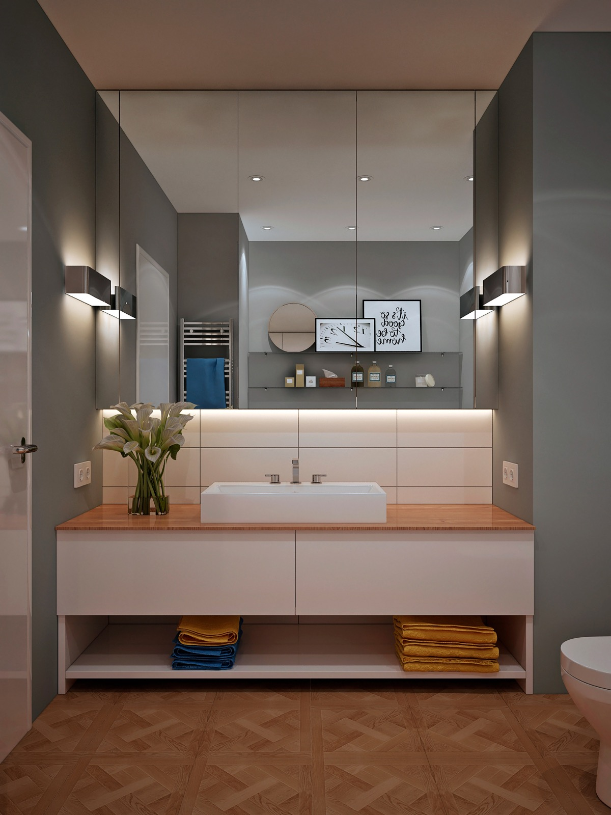 40 Modern Bathroom Vanities That Overflow With Style images 8