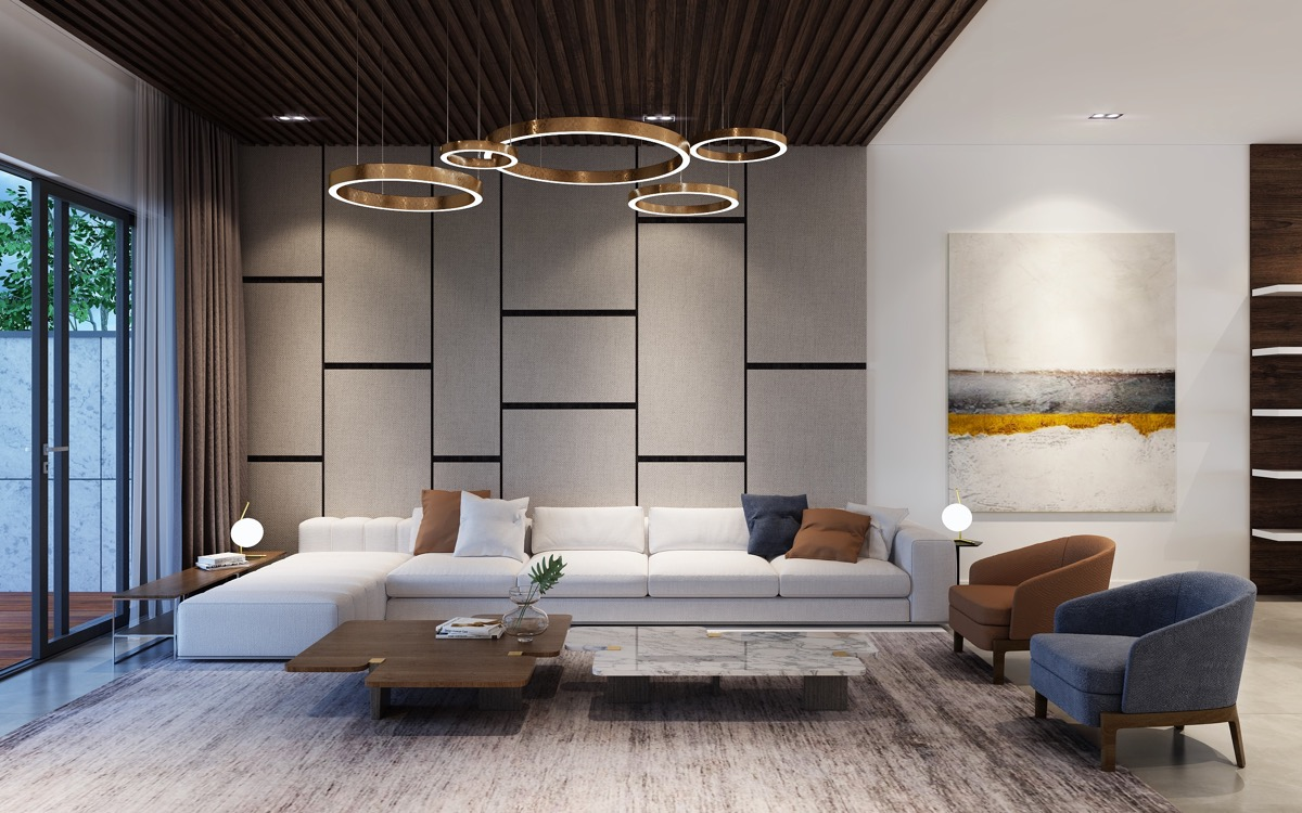 50 Modern Living Rooms That Act As Your Home