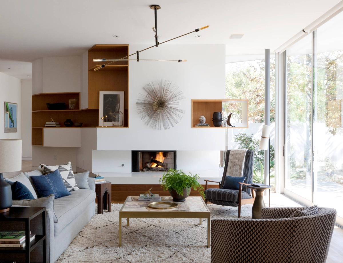 30 mesmerizing mid century modern living rooms and their for Build your living room