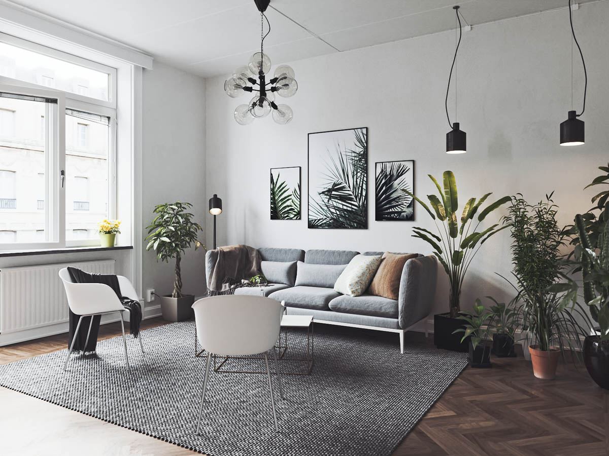 2 3 Scandinavian Homes with Cozy