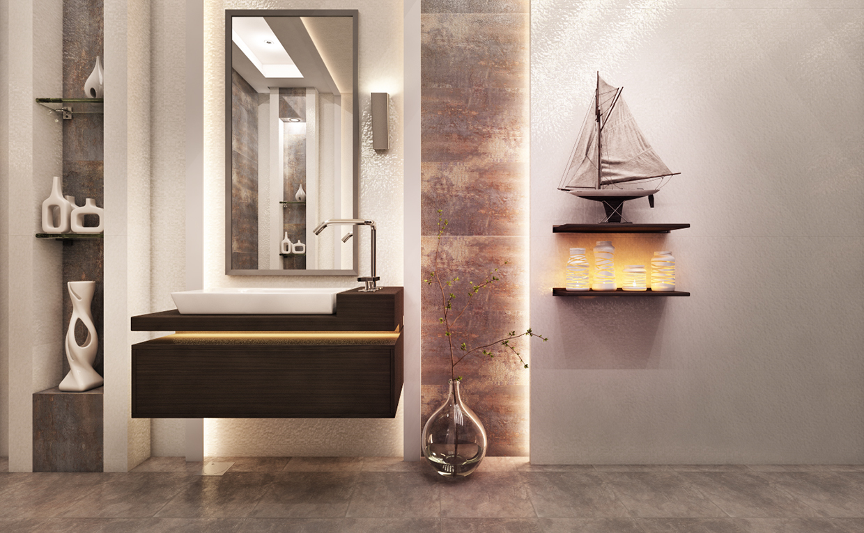 40 Modern Bathroom Vanities That Overflow With Style images 18