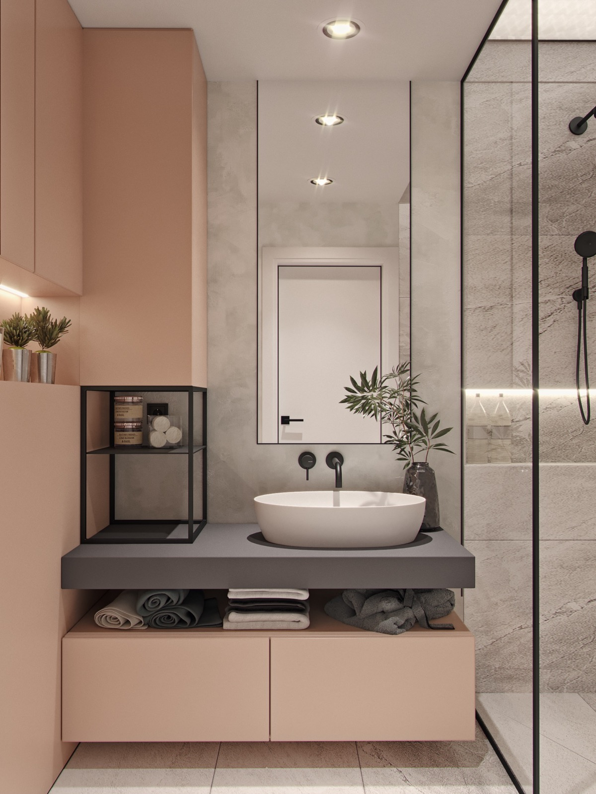 40 modern bathroom vanities that overflow with style for Modern contemporary bathroom vanities