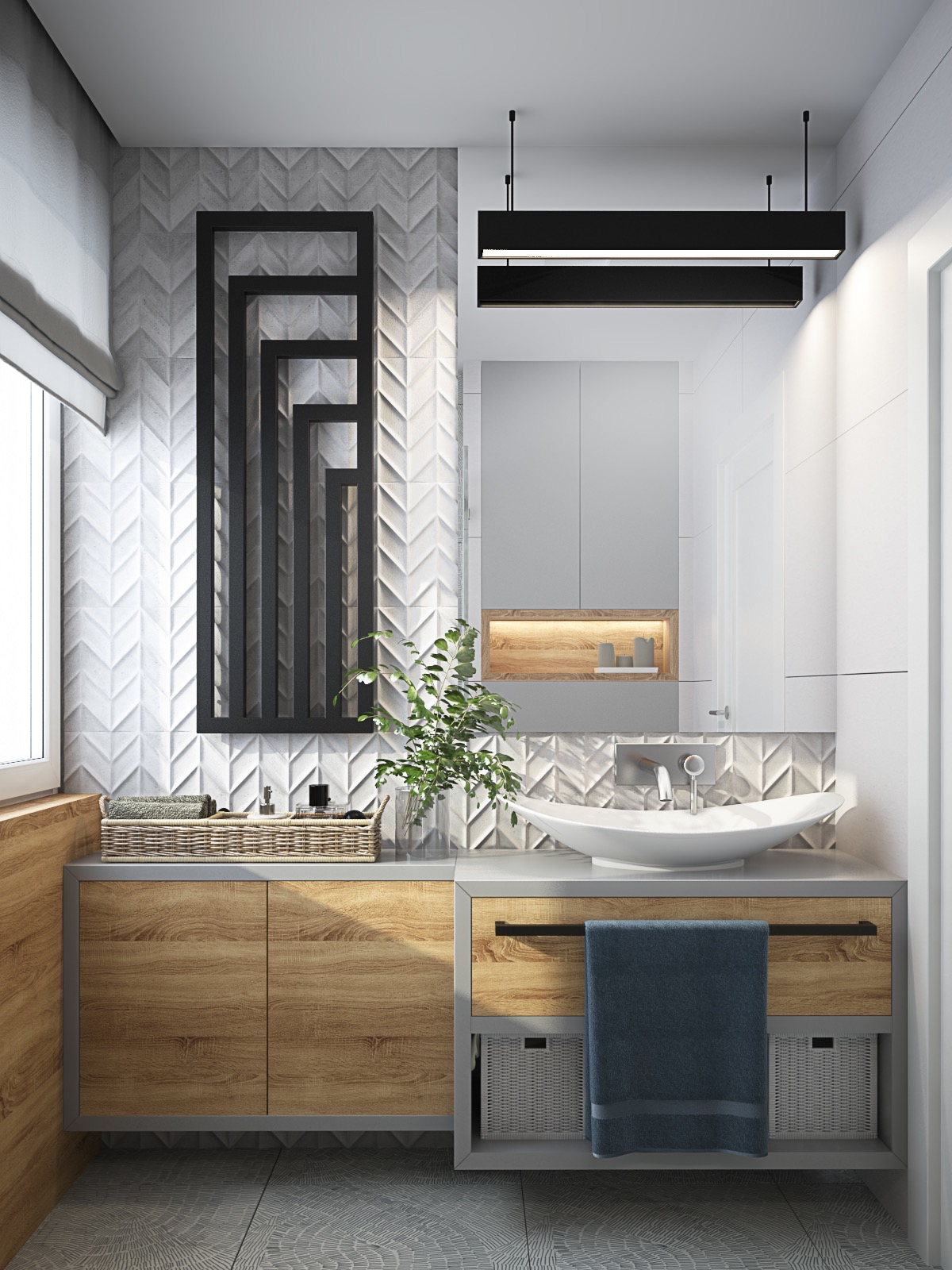 40 Modern Bathroom Vanities That Overflow With Style images 11