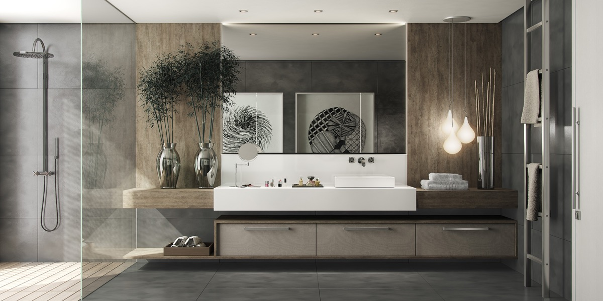 40 Modern Bathroom Vanities That Overflow With Style images 19