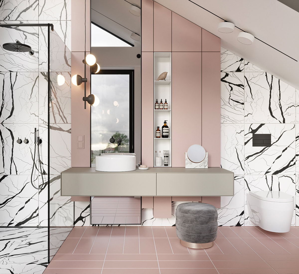 40 Modern Bathroom Vanities That Overflow With Style images 5