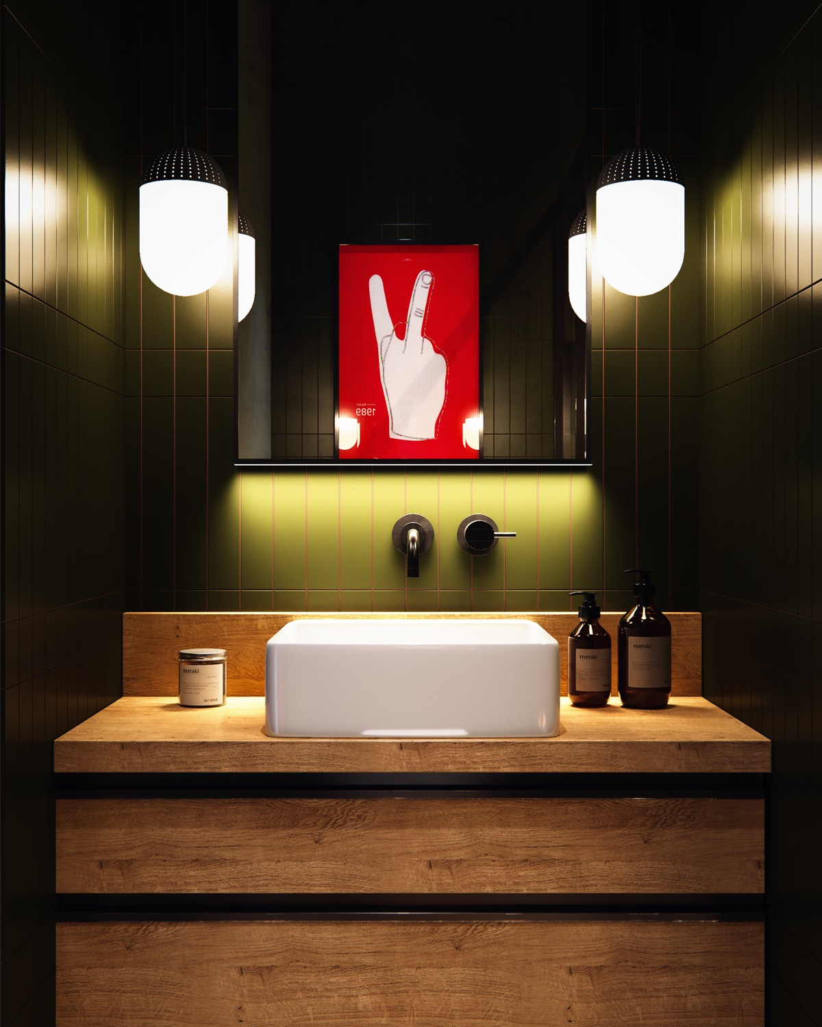 40 Modern Bathroom Vanities That Overflow With Style images 16