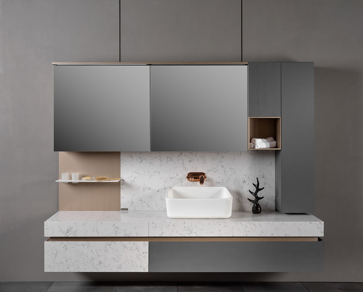 40 Modern Bathroom Vanities That Overflow With Style images 28
