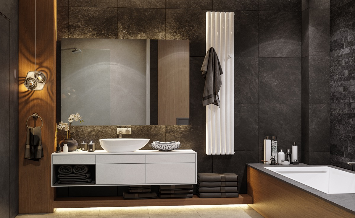 40 Modern Bathroom Vanities That Overflow With Style images 23
