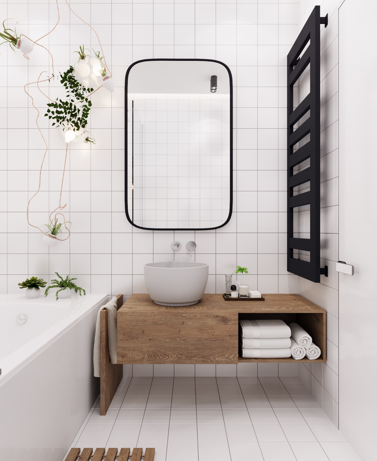 40 modern bathroom vanities that overflow with style for Bathroom design visualizer