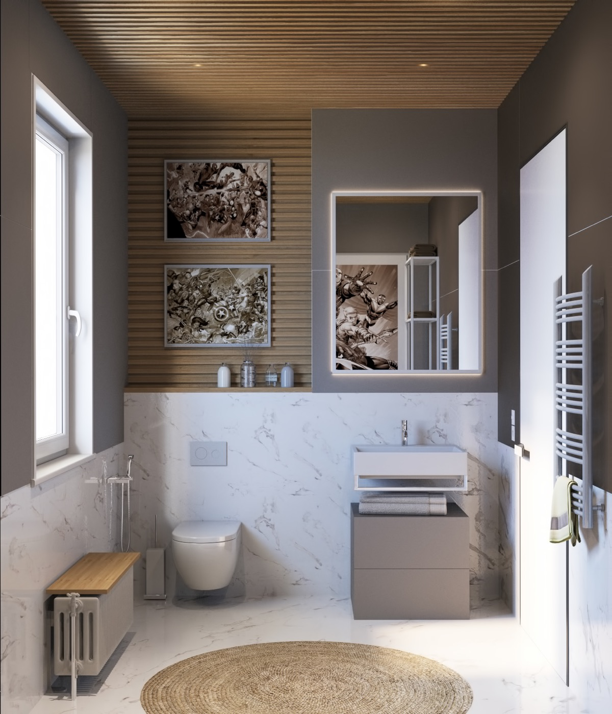 40 Modern Bathroom Vanities That Overflow With Style images 21