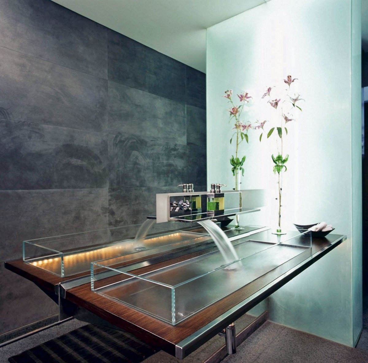 40 Modern Bathroom Vanities That Overflow With Style images 30