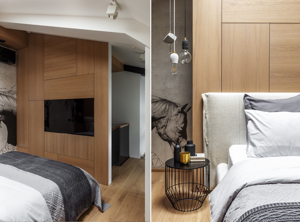 2 Gorgeous Attic Apartments That Use Grey As Base images 33