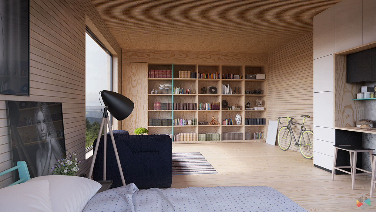 Modern Cabin Interior Design: 4 Inspiring Examples To Get Your Creative Juices Flowing images 23