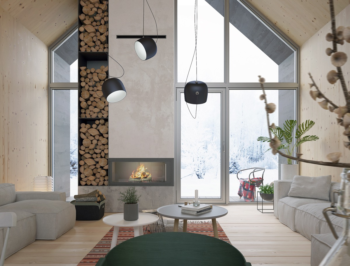 Modern Cabin Interior Design: 4 Inspiring Examples To Get Your Creative Juices Flowing images 3
