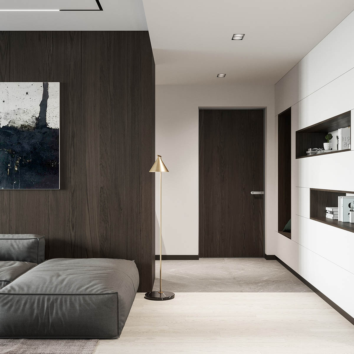 Interior Design Around Walnut Wood Finishes: 3 Great Examples images 1