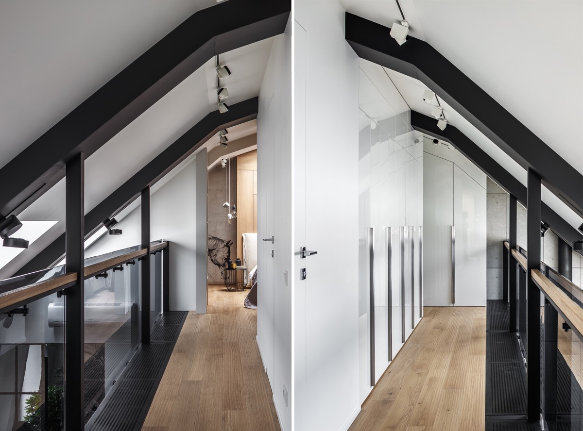 2 Gorgeous Attic Apartments That Use Grey As Base images 31