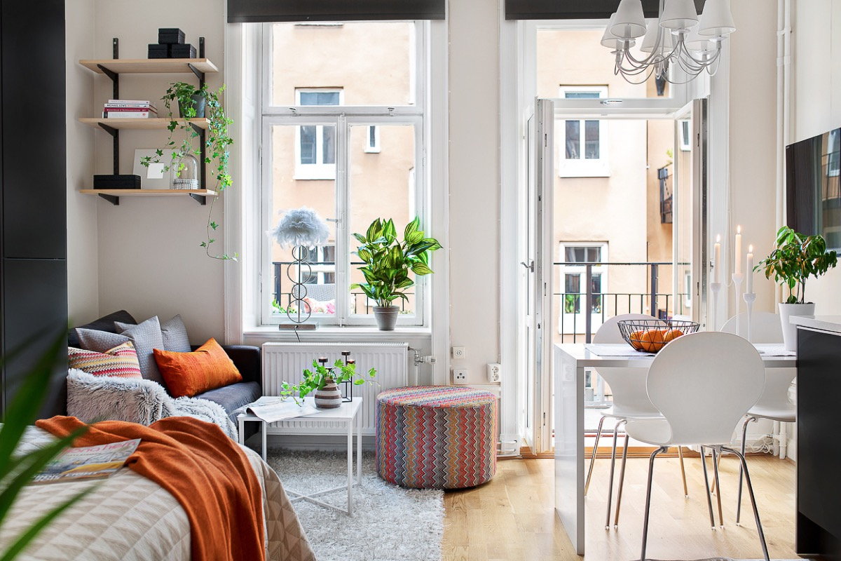4 Small Studio Interior Designs That Give Little Places A Lift images 1