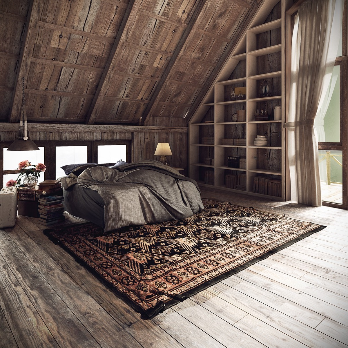 Rustic Bedrooms: Guide And Inspiration For Designing Them images 29