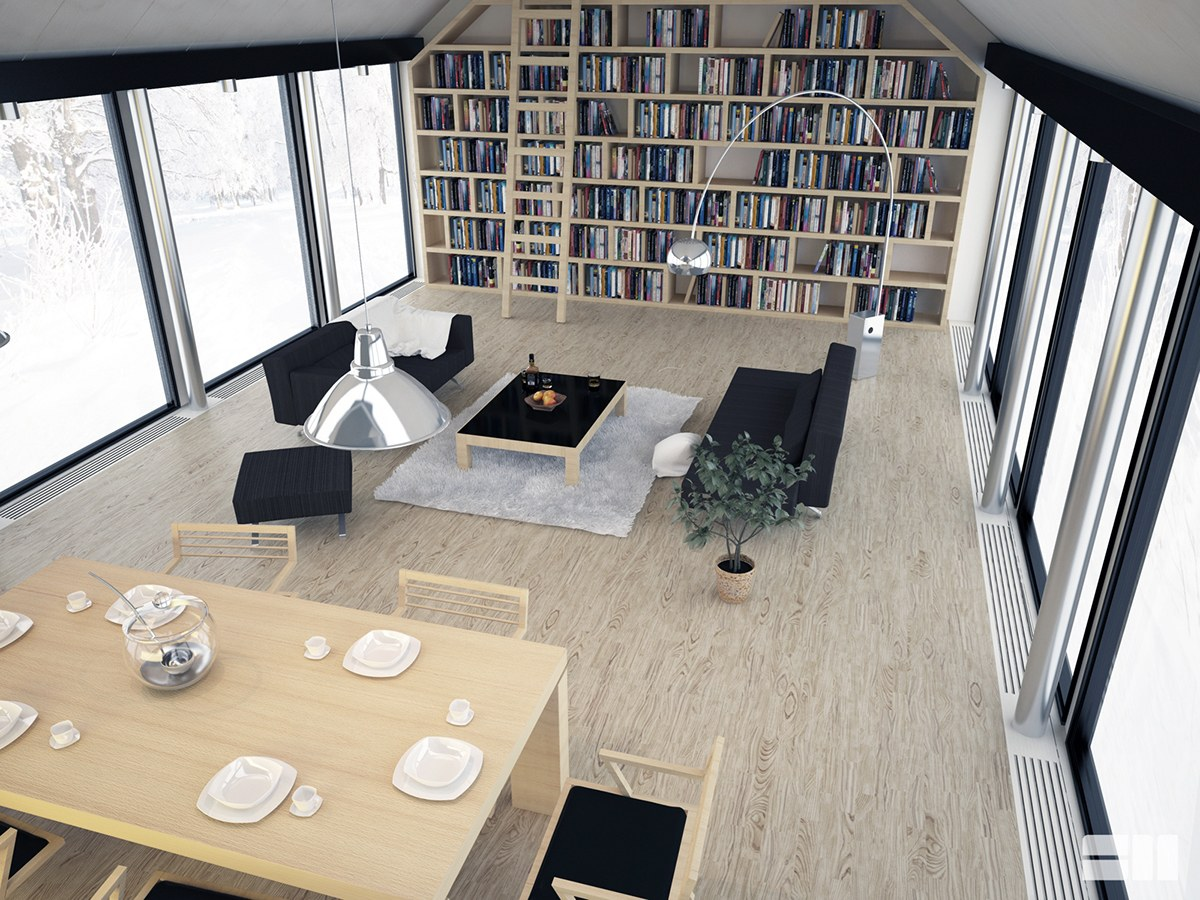 Modern Cabin Interior Design: 4 Inspiring Examples To Get Your Creative Juices Flowing images 27